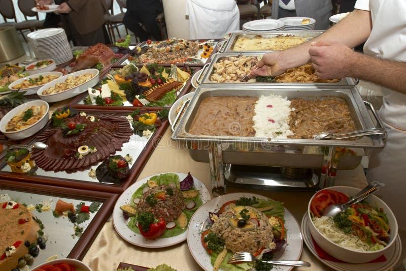 5 przygotowań jedzenie obrazy stock