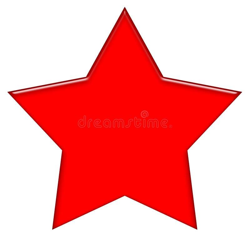 5 punktów gwiazda royalty ilustracja