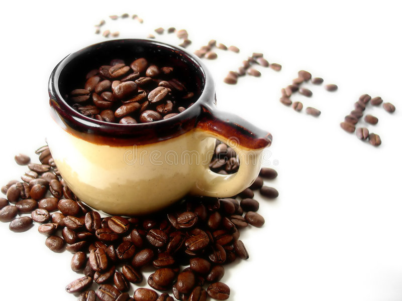 5 serii kawę fotografia royalty free