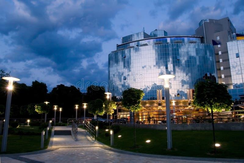 5 star hotel in Kiev royalty free stock photos