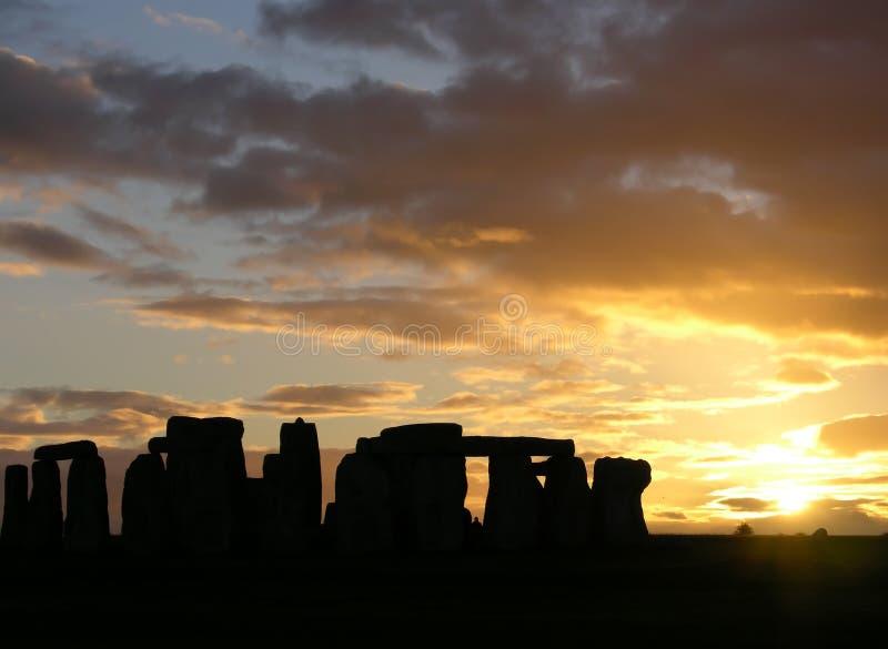 5 stonehenge 图库摄影
