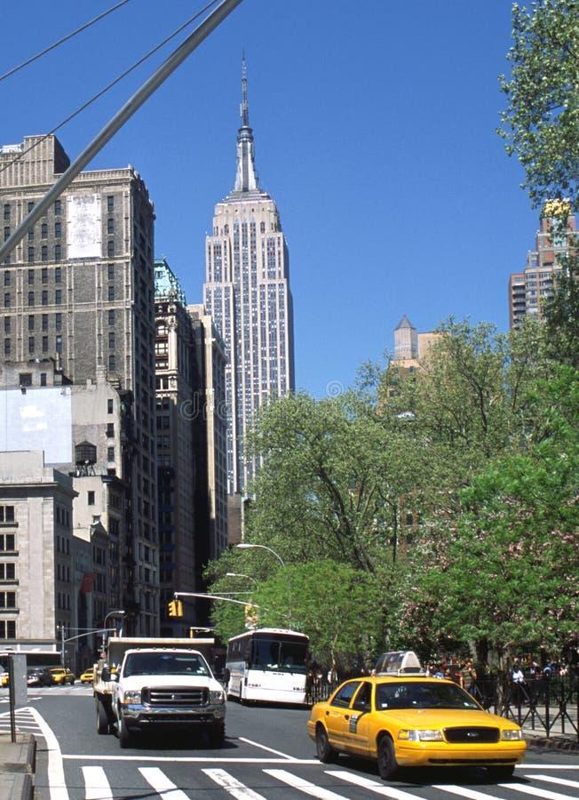 5. und Broadway, NYC lizenzfreies stockbild