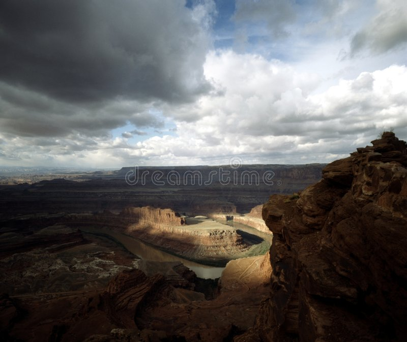 5 Utah canyonlands obrazy stock
