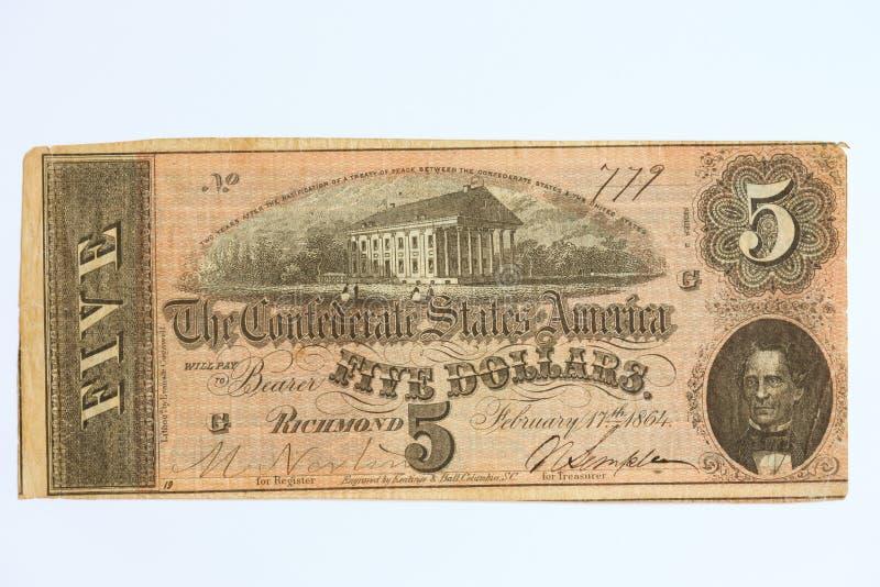 5 waluta przestarzała zdjęcia royalty free