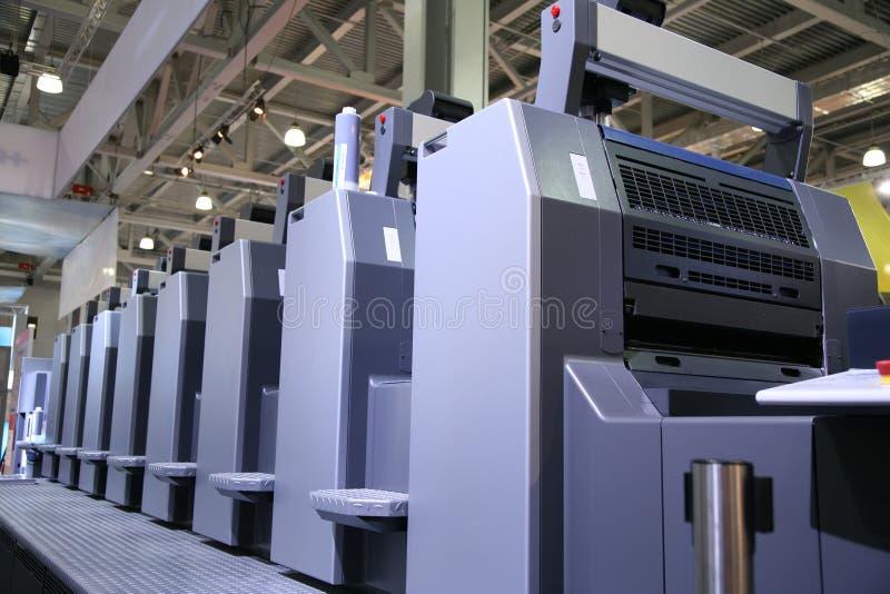 5 wydrukowane sprzętu obraz stock