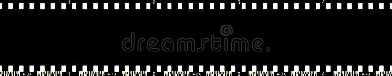 5 x4 filmframe ilustracji