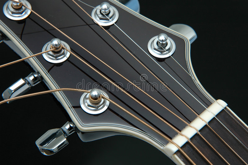 5 zbliżeń gitara obrazy royalty free