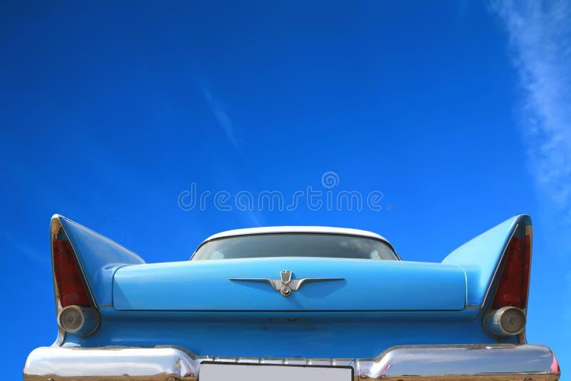 50 amerykanów 60 s rocznik samochodowy zdjęcia royalty free