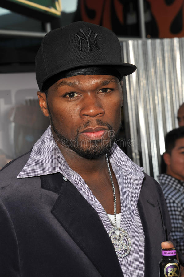 50 cent obrazy stock