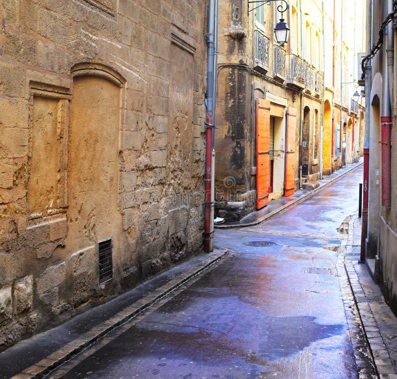 50 en aix - Provence obraz stock