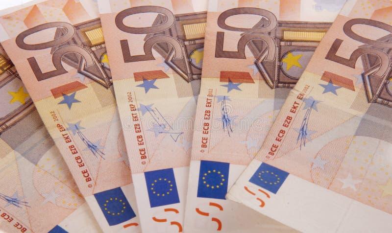 50 euro photo libre de droits