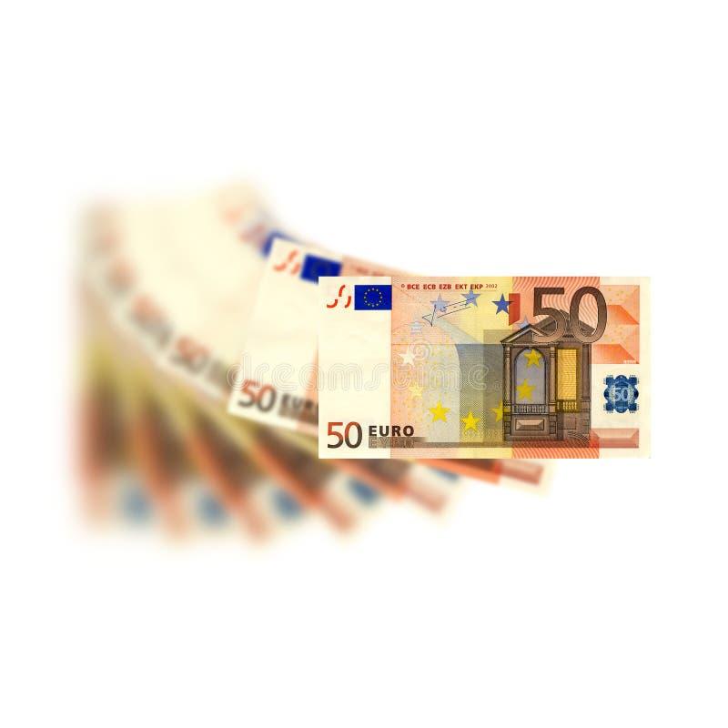 50 euro zdjęcia stock