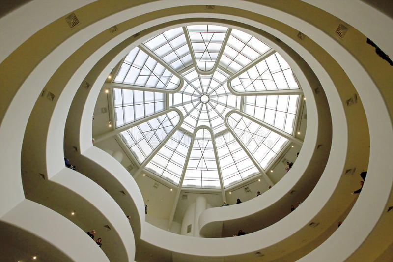 50.o Aniversario del museo de Guggenheim foto de archivo libre de regalías