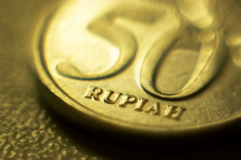 50 rupie immagine stock libera da diritti