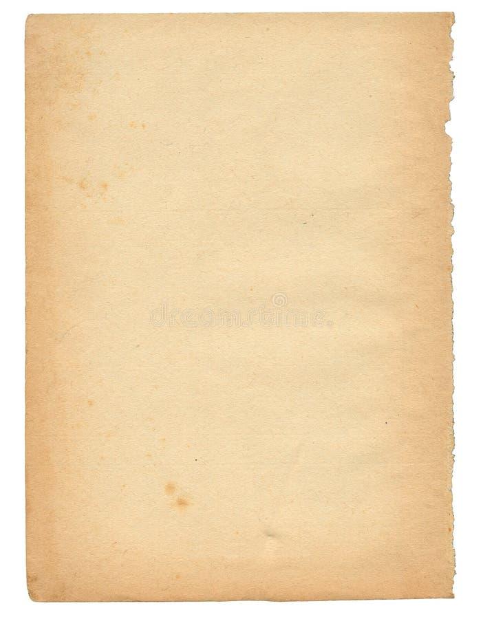 50 starych nadmiernych papieru na rok fotografia royalty free