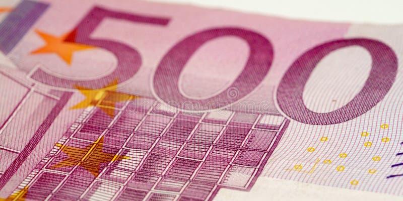 500 euro zdjęcie stock