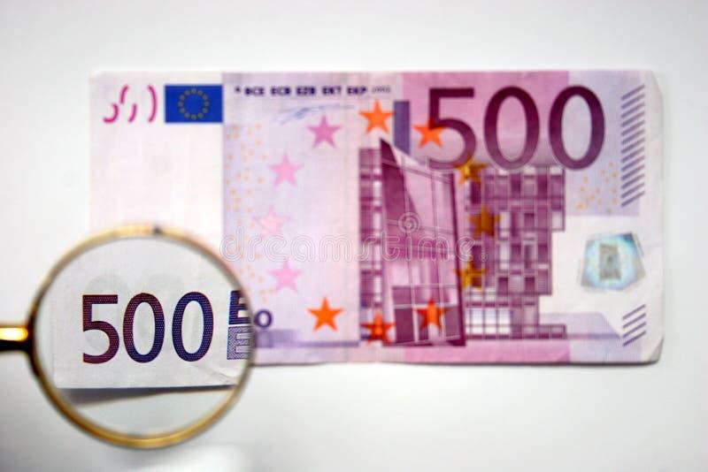 500 euro royalty-vrije stock afbeelding