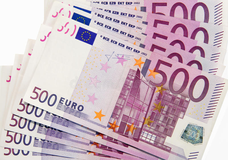 Download 500 euro banknotes stock image. Image of euro, currency - 26772709