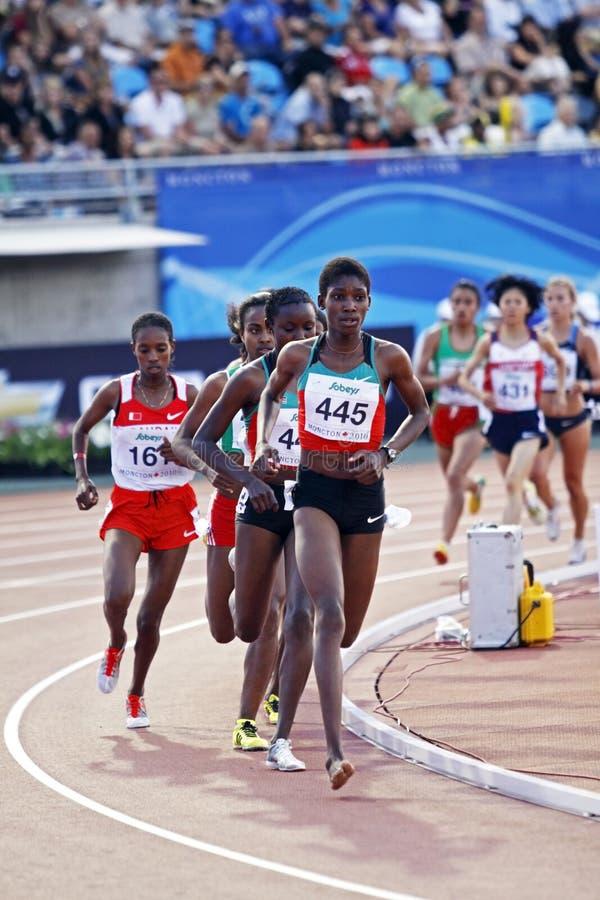 5000肯尼亚米包装妇女 库存照片