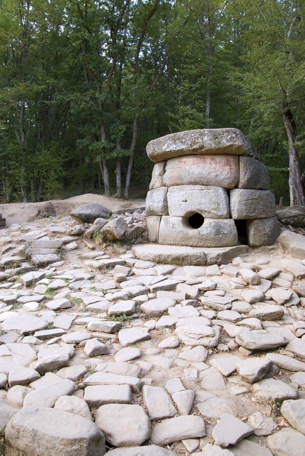 5000 temu dolmeny robić kamienni rok fotografia stock