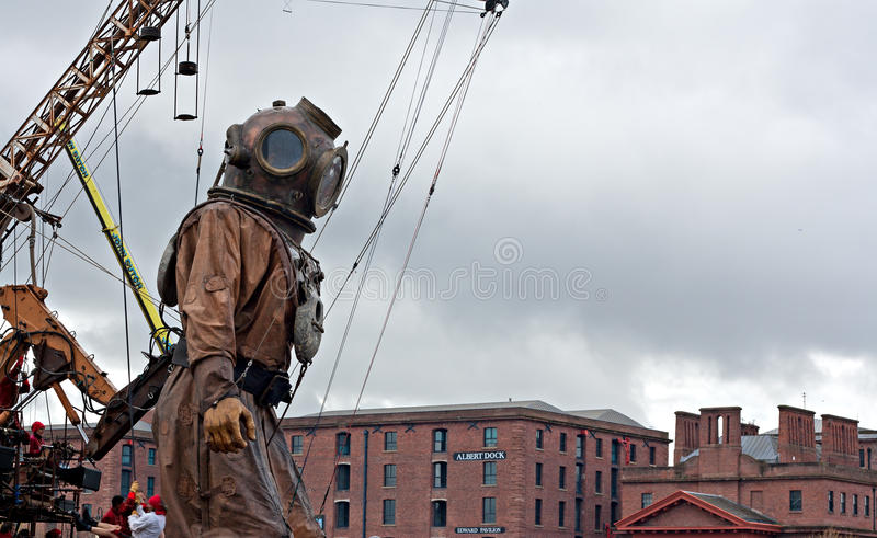 Download 50ft Giant Diver. Editorial Photography - Image: 24474187