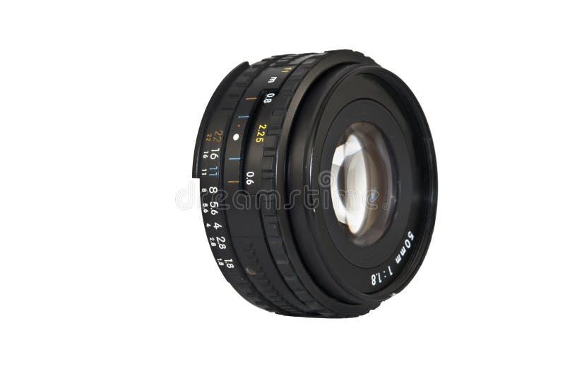 50mm摄象机镜头 免版税库存图片