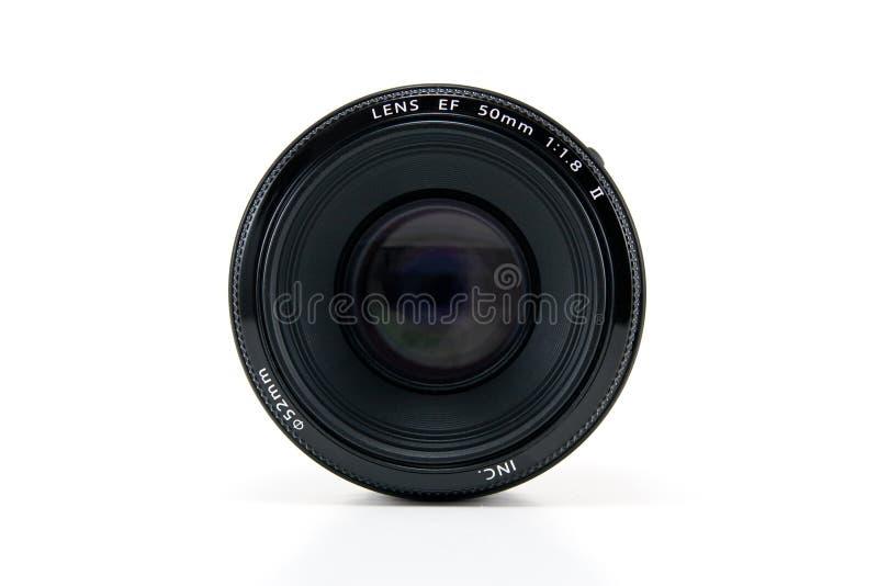 A 50mm camera lens royalty free stock photo