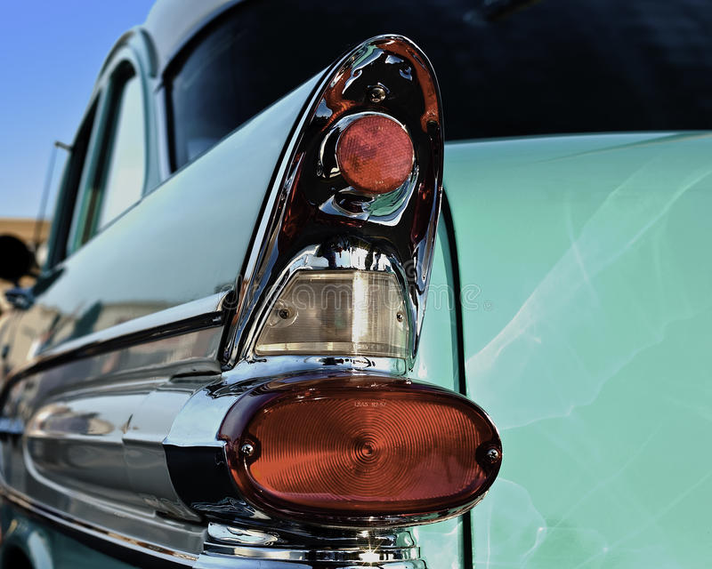 50s Car Fin Royalty Free Stock Images