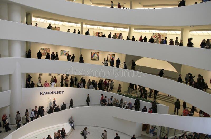 50th Aniversário do museu de Guggenheim fotos de stock royalty free