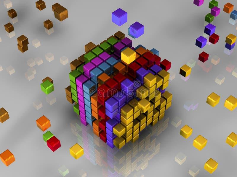Download 512 bits of code stock illustration. Image of multiple - 2900683