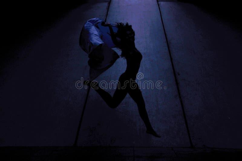 54地下舞蹈 图库摄影
