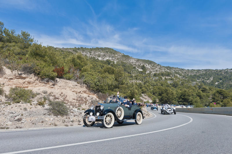 Download 54th Rally Barcelona-Sitges Second Phase Race. Editorial Stock Photo - Image of antique, history: 26605658