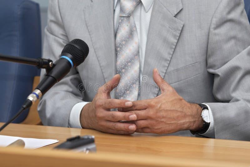 55会议 免版税图库摄影