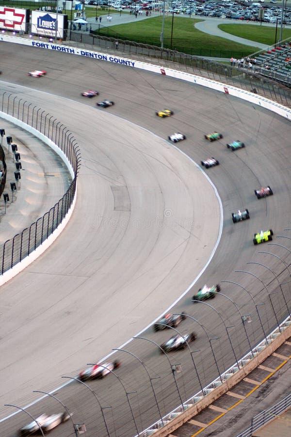 550k bombardiera learjet wyścigu Indy zdjęcia stock
