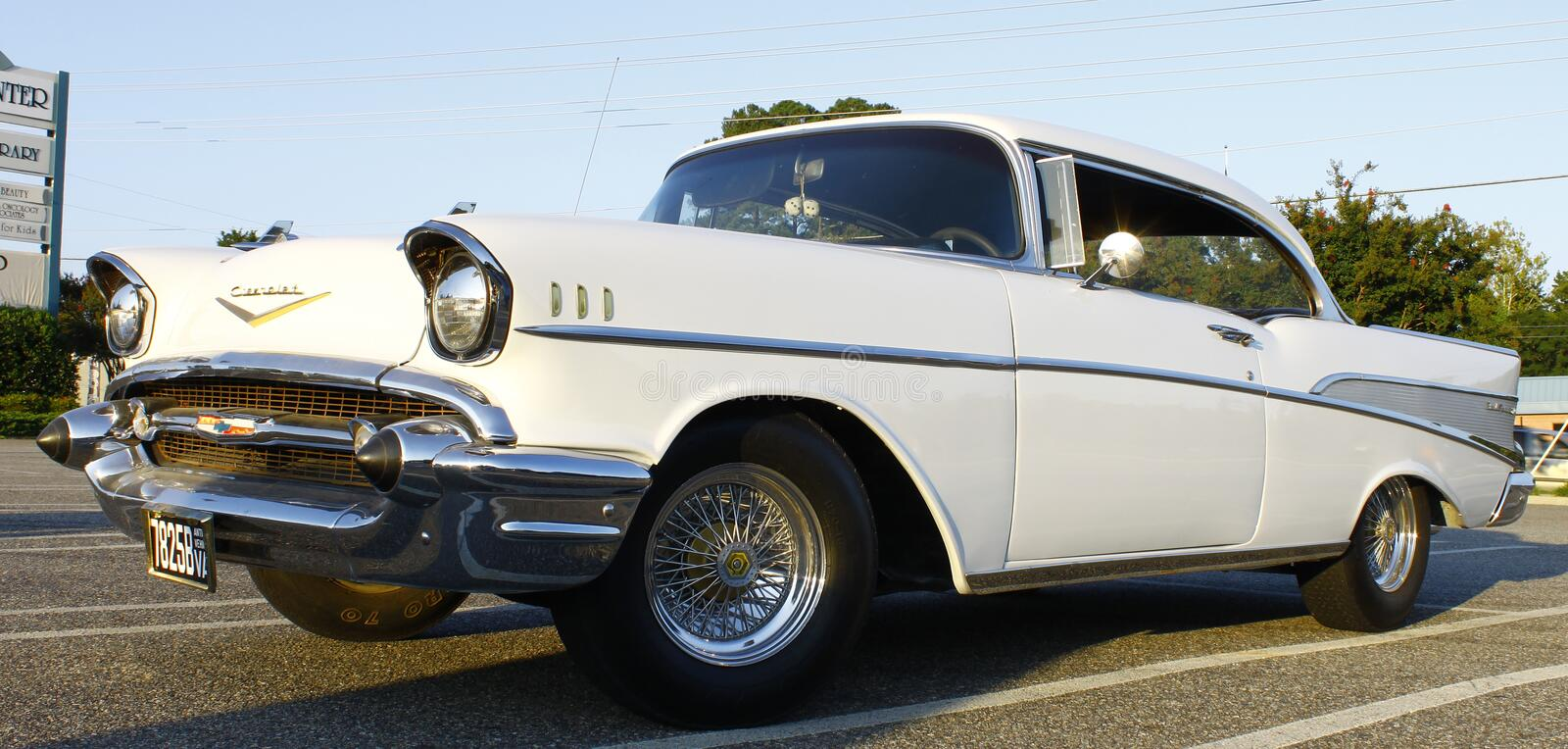 57 Chevy imagens de stock royalty free