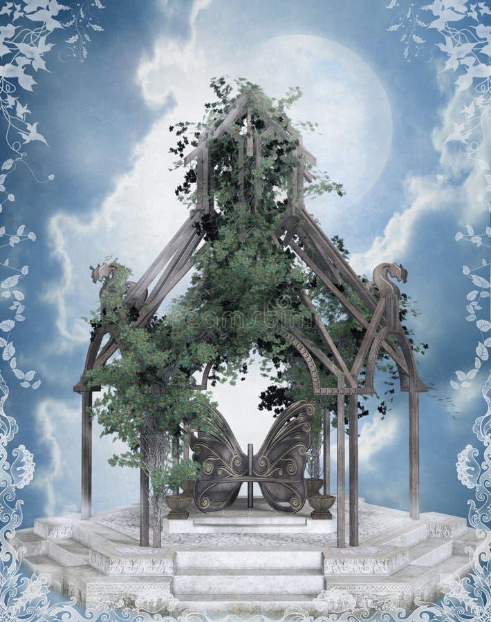 58 fantazj sceneria royalty ilustracja