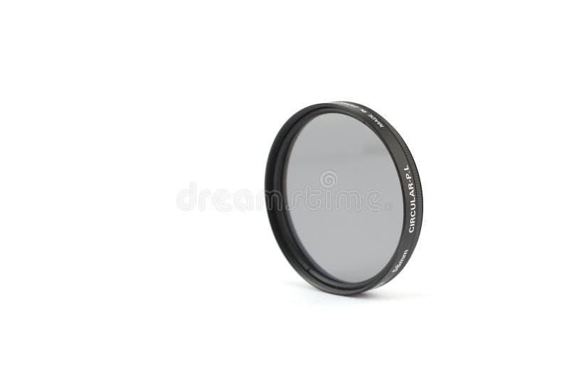 58mm Circular Polariser. For SLR Cameras stock images