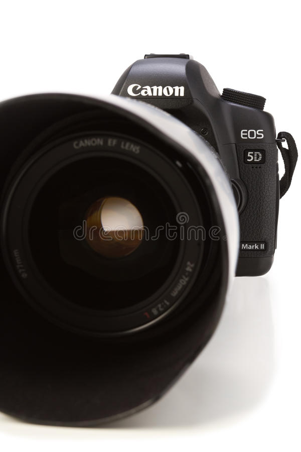 5d kamery kanonu markii obraz stock