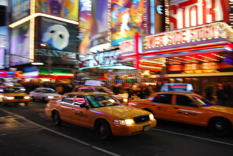 5th avenue, New York City. With busy traffic royalty free stock images