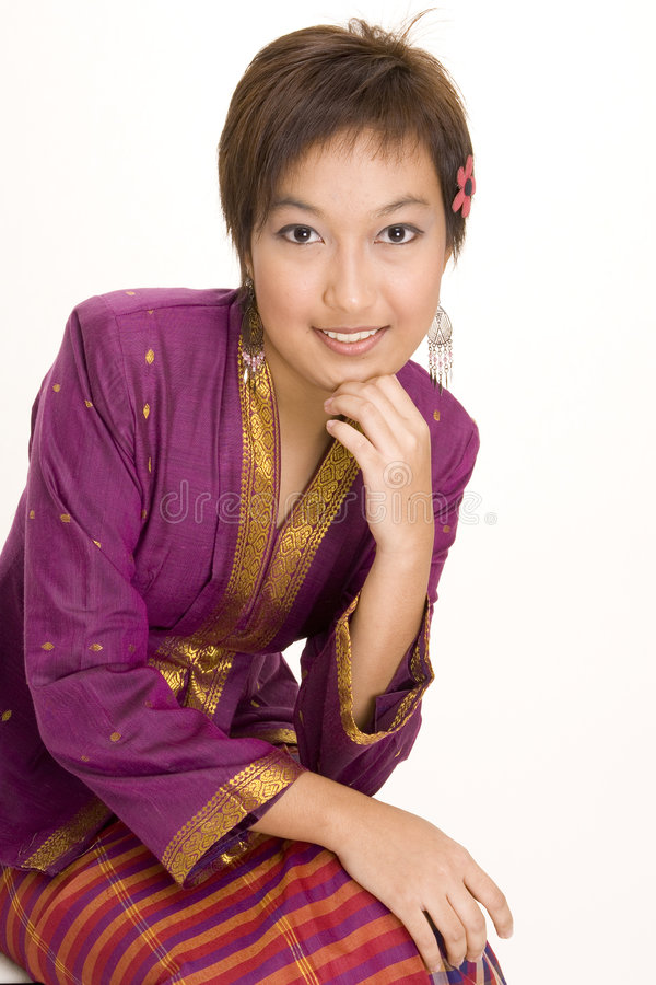 6个亚洲人设计 库存照片