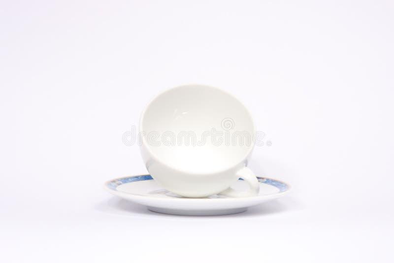 6个咖啡杯 免版税库存照片