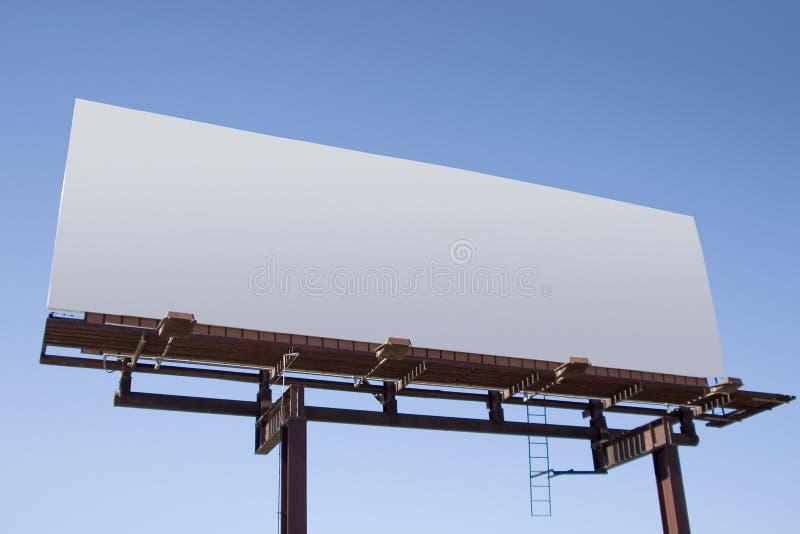 6个广告牌空白 免版税库存图片
