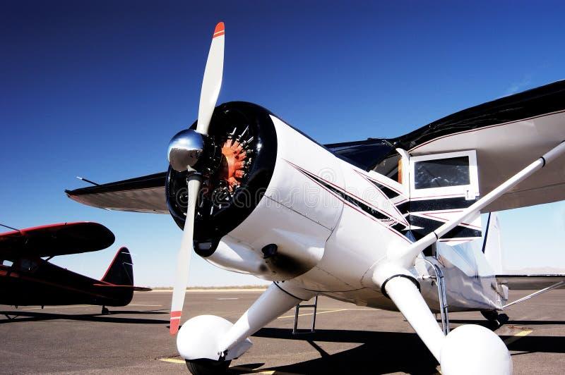 6个航空器古董 图库摄影