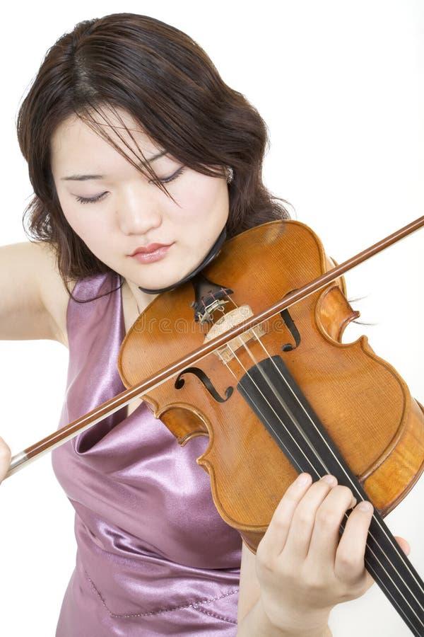 6小提琴手 免版税库存照片