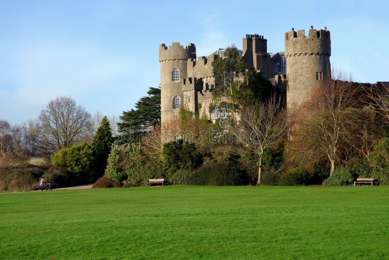 6座城堡malahide 免版税图库摄影