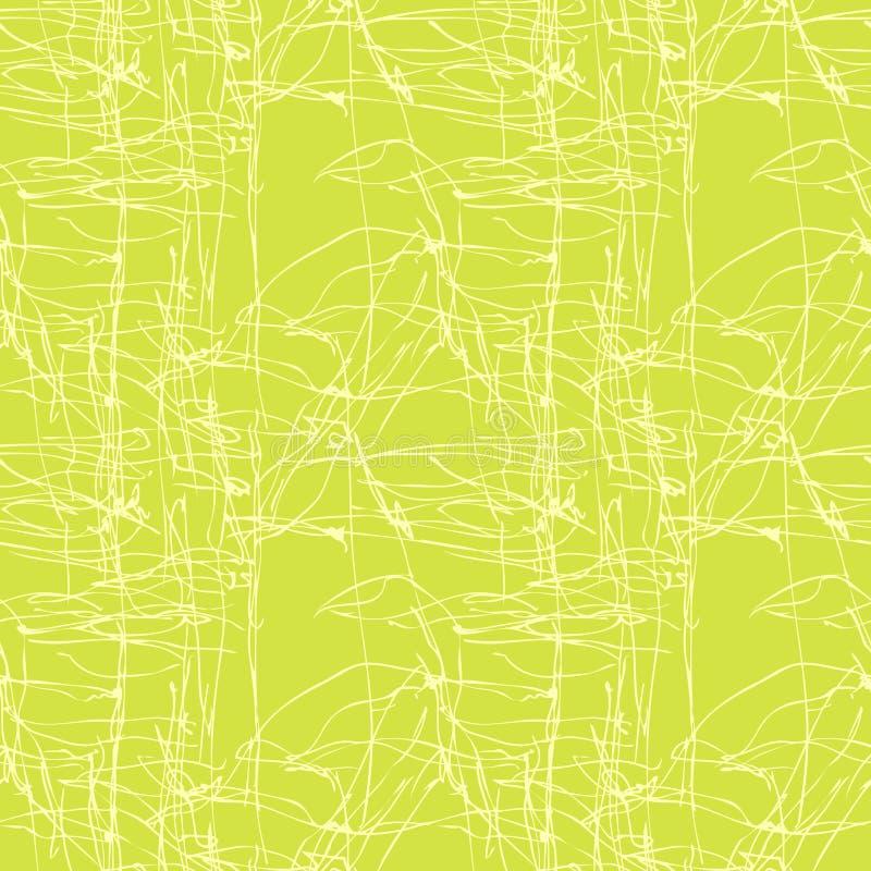 6无缝绿色的模式 皇族释放例证