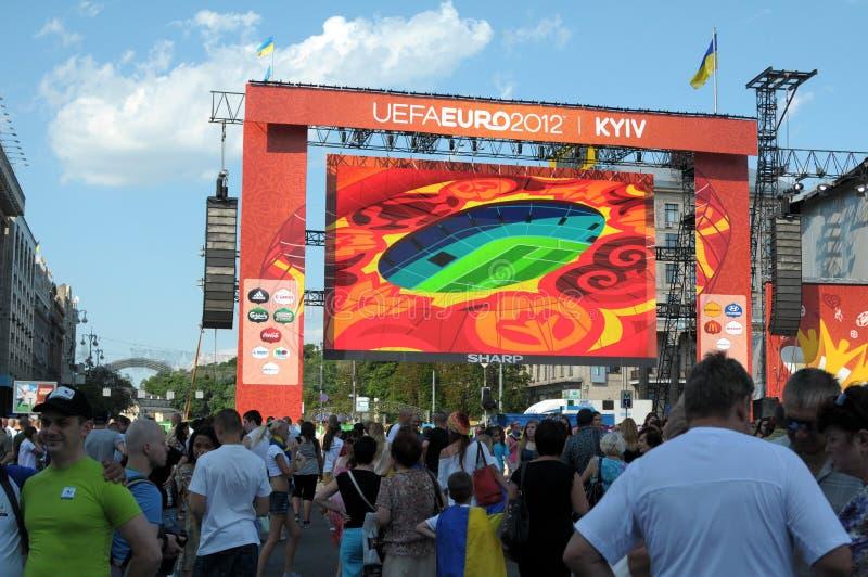 6月19日基辅乌克兰 免版税图库摄影