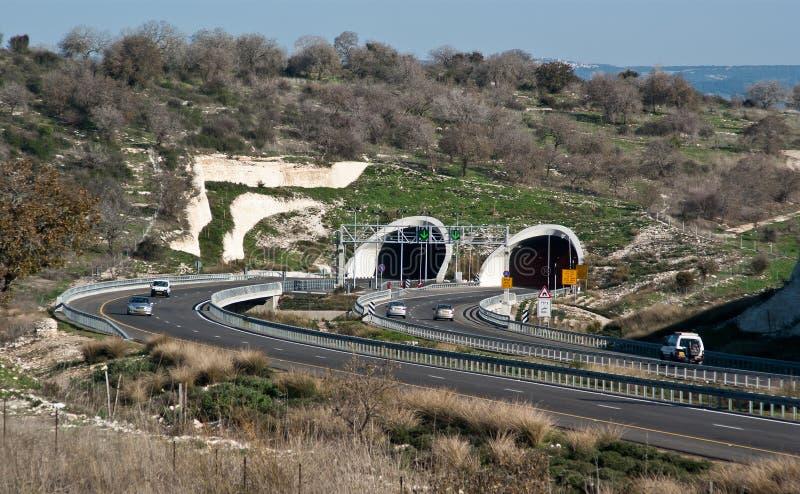 6高速公路 免版税库存照片