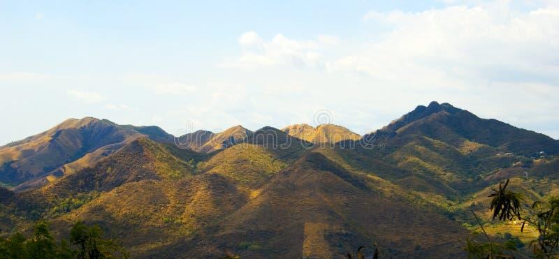 6 βουνά στοκ εικόνες