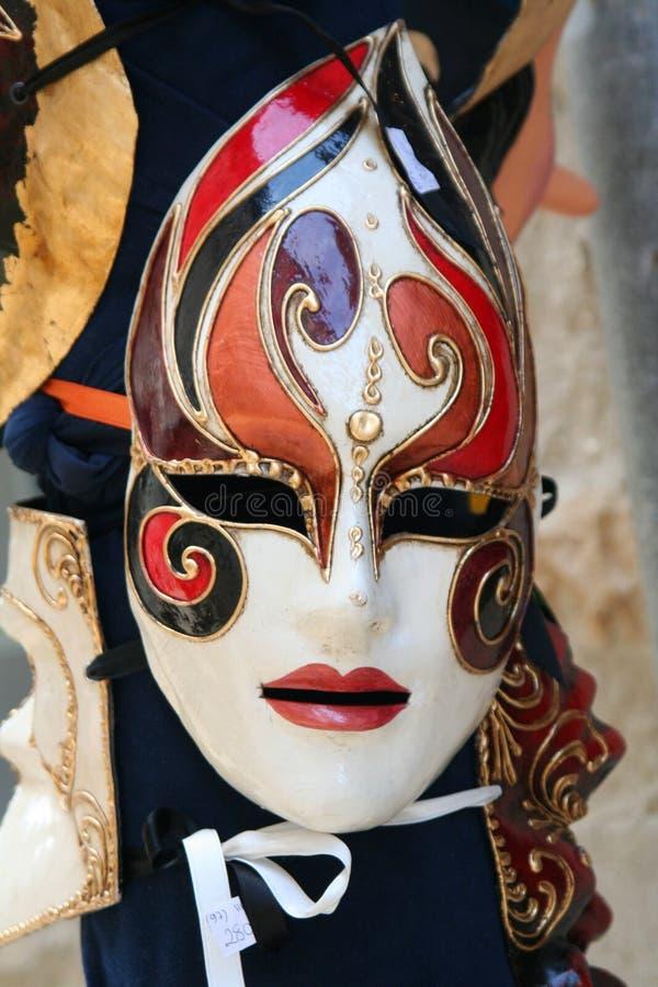 6 μάσκες Βενετός στοκ φωτογραφία με δικαίωμα ελεύθερης χρήσης
